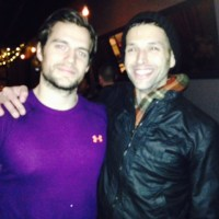 Henry Cavill spotted near Detroit, will shoot 'Batman vs. Superman' for 10 months? (photo)