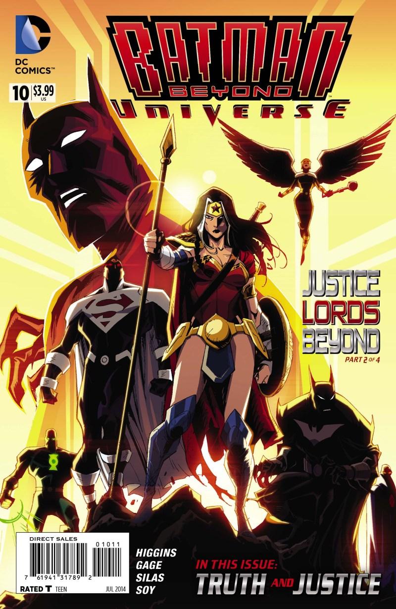 Batman Beyond Universe 10_Cover