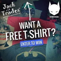 Giveaway: Batman t-shirts, sponsored by Jack of all Trades