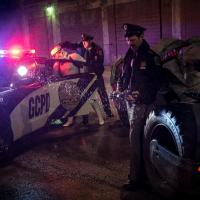 Zack Snyder tweets photo of the GCPD arresting a Stormtrooper next to the Batmobile