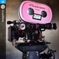 'Batman v Superman: Dawn of Justice' crew supports Breast Cancer Awareness Month with pink camera