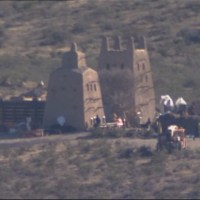 A look at the completed 'Batman v Superman: Dawn of Justice' set in New Mexico (video)