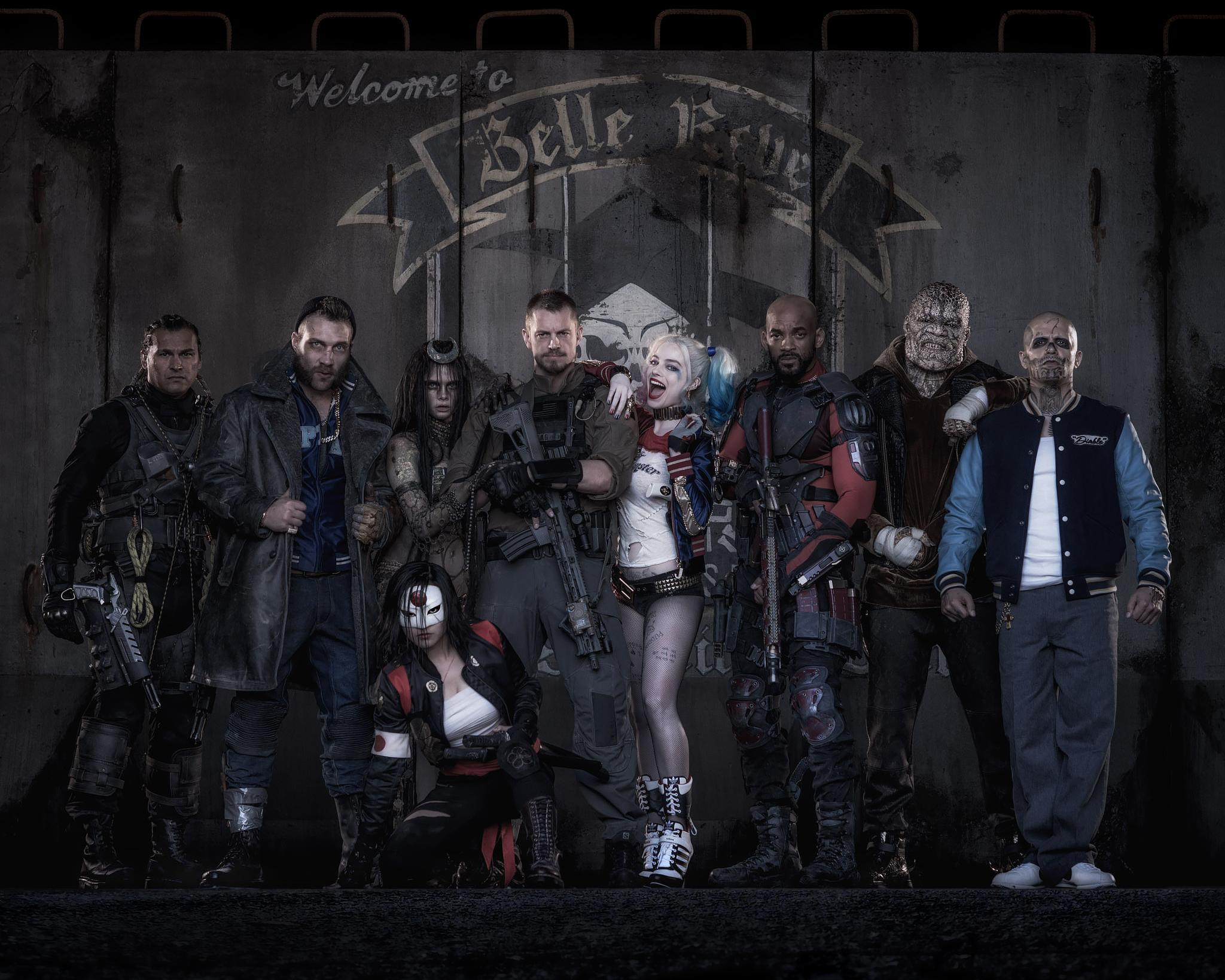 Behind the Scenes SUICIDE SQUAD Snaps Reveal Location of ...