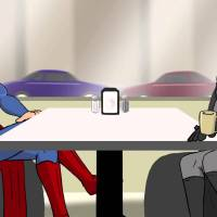Super Cafe: Batman v Superman – It's On! (video)