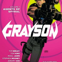 Grayson, Vol. 1: Agents of Spyral review