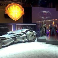 First look inside the 'Batman v Superman' Batmobile, plus another great look at the Batsuit