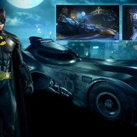 Michael Keaton Batman and Batmobile skins are coming to 'Batman: Arkham Knight'
