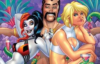 Harley Quinn Power Girl 5