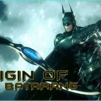 The history of Batman's iconic Batarang (video)