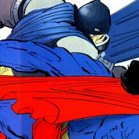 10 awesome times Batman kicked Superman's ass