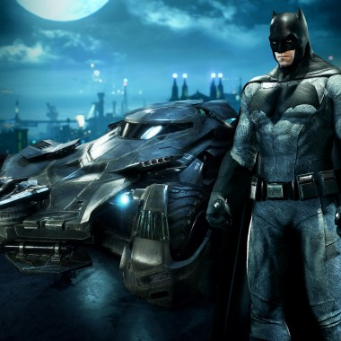 See the 'Batman v Superman' Batsuit and Batmobile in action in new 'Batman: Arkham Knight' video