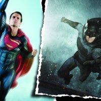 Epic new look at Ben Affleck and Henry Cavill suited up for 'Batman v Superman'