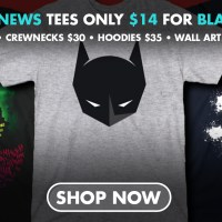 Black Friday Batman deals, including Batman News t-shirts