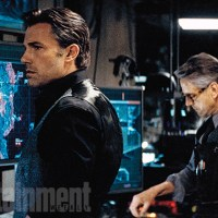 New Batcave images from 'Batman v Superman', plus new interviews with Ben Affleck and Jeremy Irons