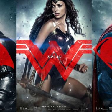 3 new 'Batman v Superman' posters feature Batman, Superman, and Wonder Woman