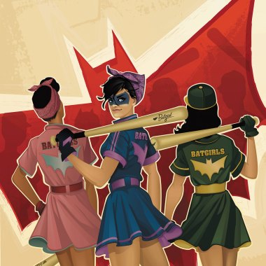 DC Comics Bombshells #7 review
