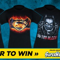 Giveaway: Win 'Batman v Superman' shirts courtesy of SuperHeroStuff