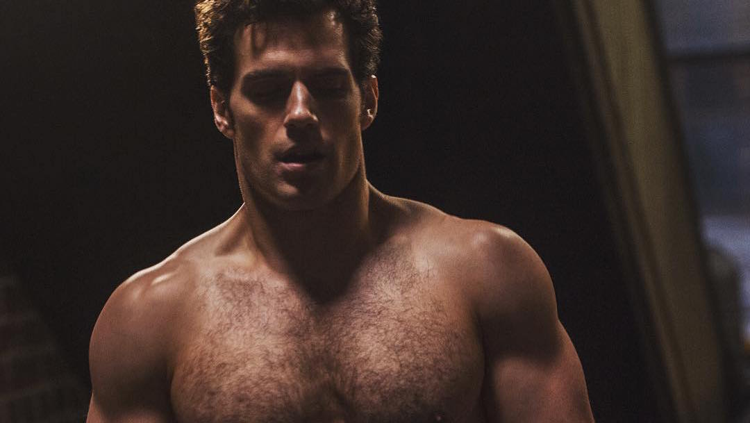 Henry Cavill begins working out for 'Justice League ...