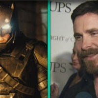 Christian Bale is pumped for 'Batman v Superman', Morgan Freeman… not so much