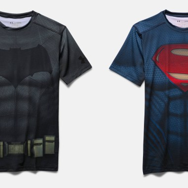 Under Armour launches 'Batman v Superman' merchandise