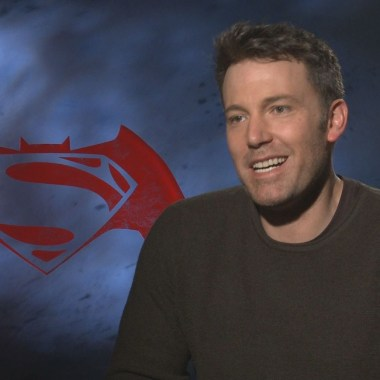 "Ben Affleck talks 'Batman v Superman' and what it was like in the ""heavy"" armored Batsuit (video)"