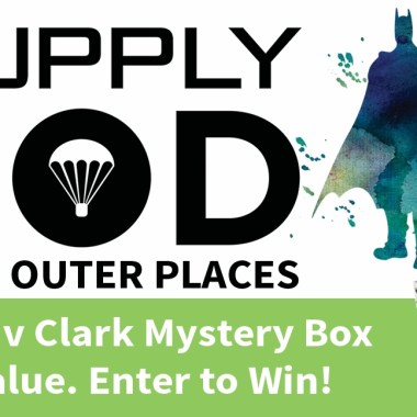 """Giveaway: Win a """"Bruce v Clark"""" Supply Pod courtesy of Outer Places"""