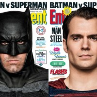 Batman and Superman grace latest cover of Entertainment Weekly