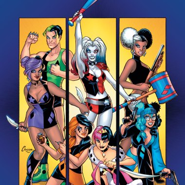 Harley Quinn and Her Gang of Harleys #1 review