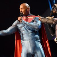 The Rock really wants to rumble with Henry Cavill's Superman in the DCEU