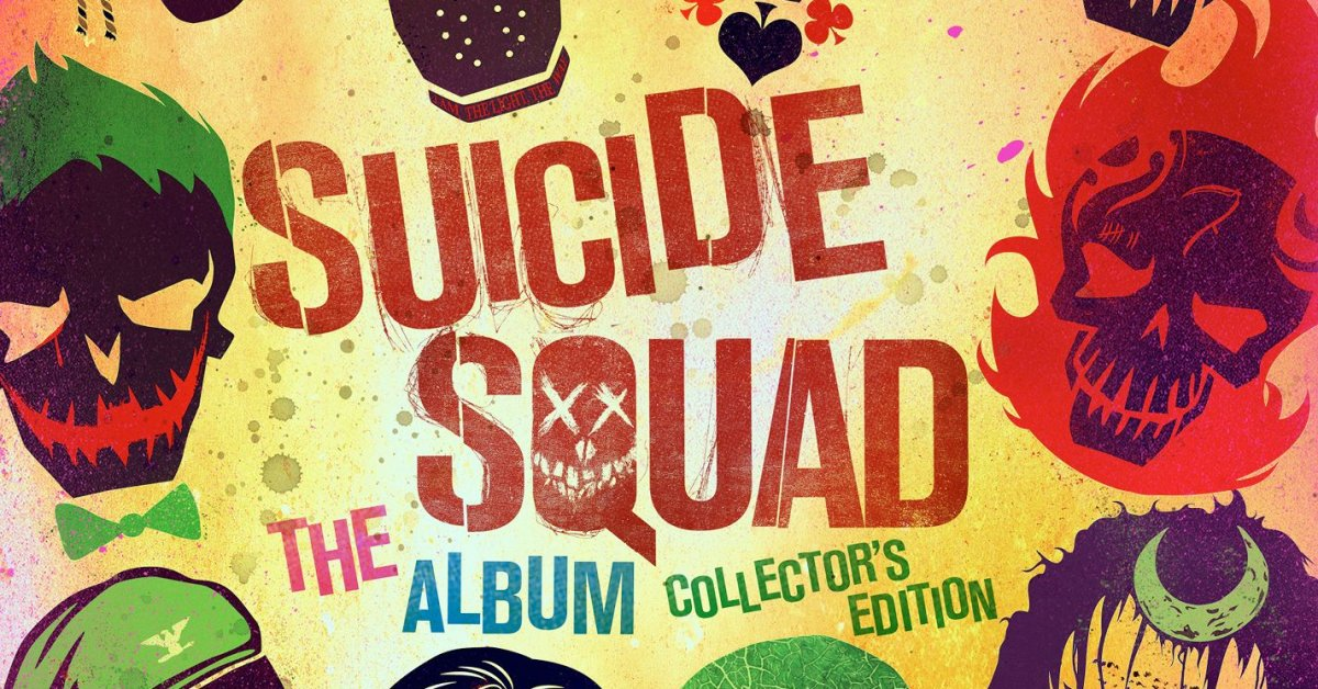 Suicide squad the album collector 39 s edition features the for Spirit colonna sonora