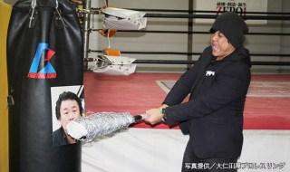 12・5リアルジャパン後楽園での貴闘力の対戦相手に名乗りをあげた大仁田1