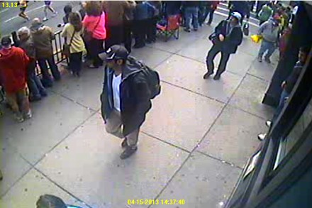 F.B.I. Realease Video and Images of Boston Bombing Suspects