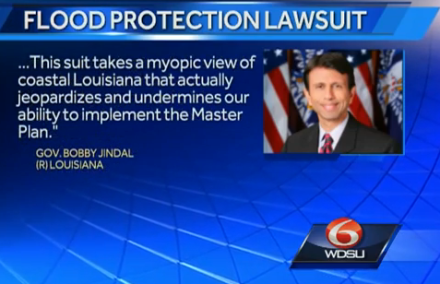 Governor Jindal demands flood board drop lawsuit | #Louisiana