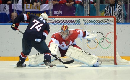 Here's how T.J. Oshie's game-winning goal sounded on Russian TV