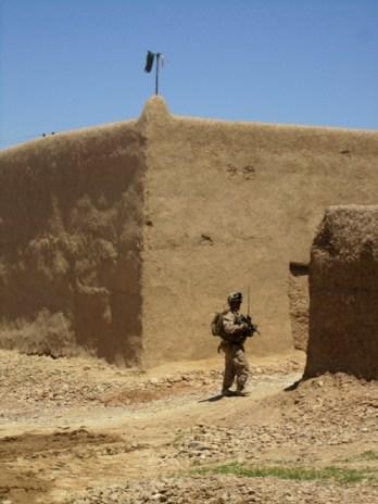 Taliban flags in Afghanistan