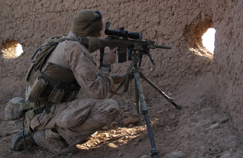 how to become a sniper in the marines
