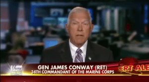 Former commandant, retired Gen. James T. Conway said Bergdahl should not have been valued the same as most other POWs.