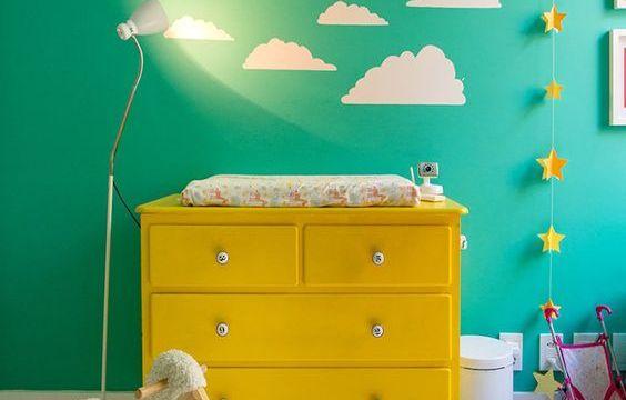 Trocador de bebê facilita a vida, confira 20 inspirações lindas