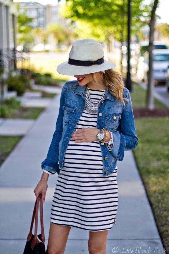 jaqueta jeans para grávidas