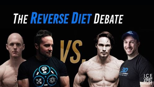The reverse dieting debate ft. Eric Helms, Layne Norton & Peter Fischen