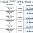 """Vietnam Airlines """"són"""" vé máy bay tết 2013"""