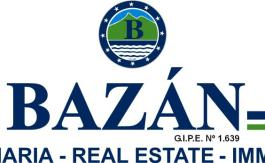 BAZAN logo en sus colores con GIPE