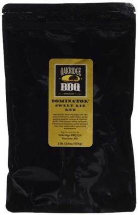 Oakridge Dominator Sweet Rib Rub