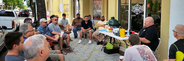 Whiskey Bent BBQ Supply Brisket Class Lead