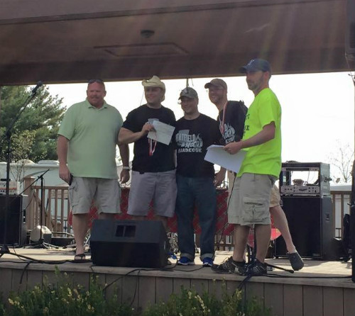 Hatfield and McCoy BBQ Team 1 500