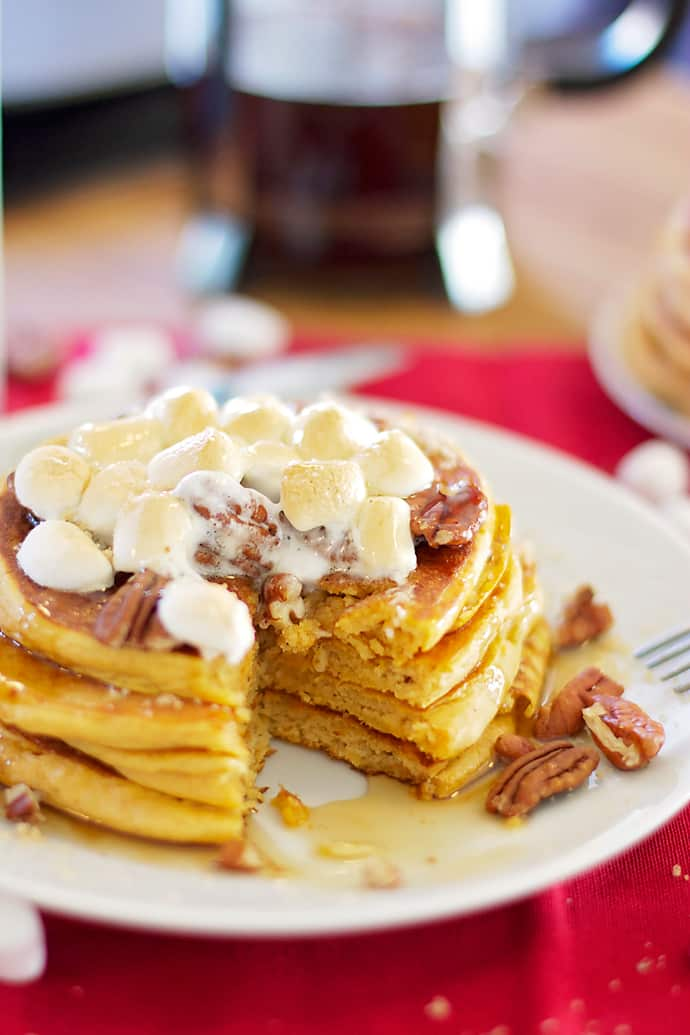 ... create these pancakes since january i saw sweet potato pancakes on the