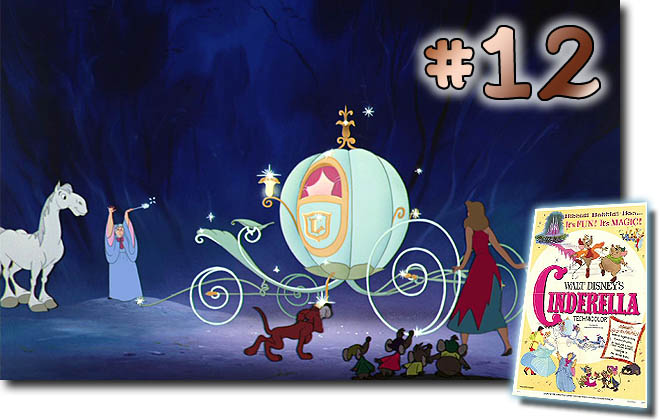 # 12 Cinderella: BCDB List of Disney Animated Films