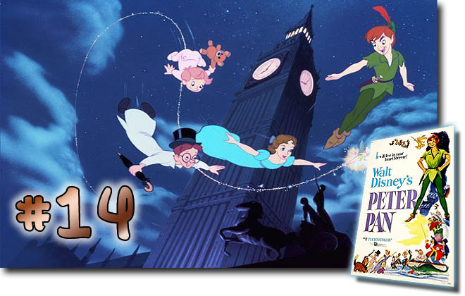 # 14 Peter Pan: BCDB List of Disney Animated Films