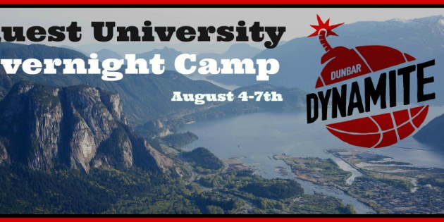 Dunbar Dynamite Overnight Camp @ Quest – Aug 4-7