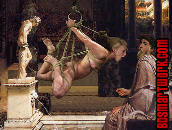 Assured, erotic art slave market roman something